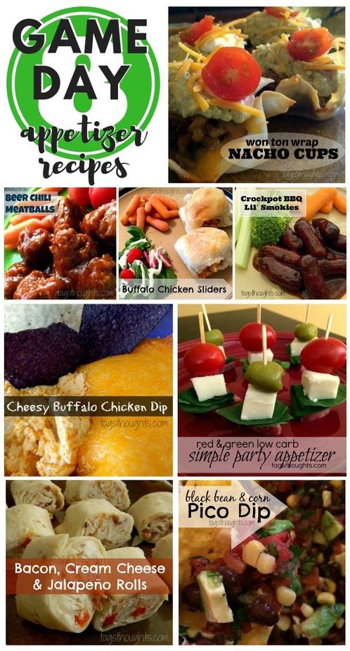 Super Bowl Appetizer Recipes; TrishSutton.com