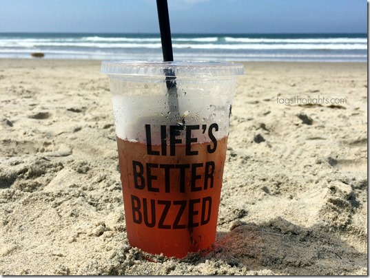 Better Buzz Coffee San Diego Tea by TrishSutton.com