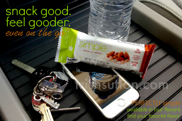 Snack Good. Feel Gooder. Even on the Go. Perfectly Simple Bars; Coupon on TrishSutton.com