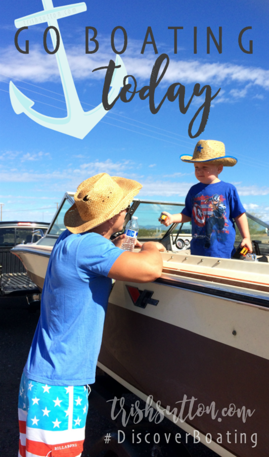 Do you hear that? The water is calling. Go Boating Today (Even If You Don't Own A Boat) #DiscoverBoating TrishSutton.com