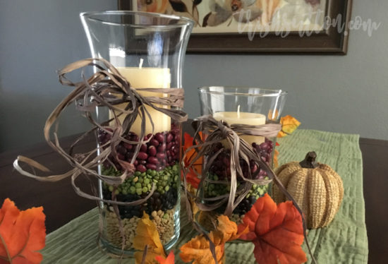 Thanksgiving Centerpiece; Simple Fall Decor by Trish Sutton