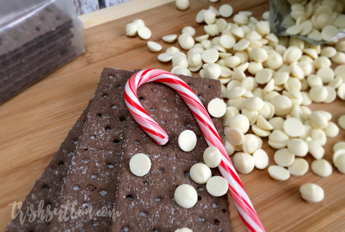 Simple Chocolate Peppermint Bark, TrishSutton.com