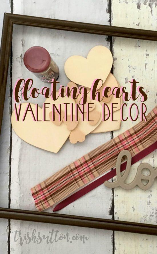 Floating Hearts Valentine Decor   TrishSutton.com