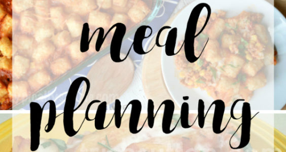 Meal Planning; 5 Weeknight Recipes & Printable Grocery List - TrishSutton.com