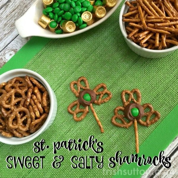 Pretzel Shamrocks: A Chocolate St. Patrick's Day