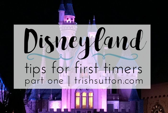 Disneyland Tips For First Timers   Part One