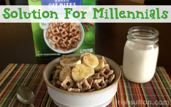 Solution For Millennials; Nature Valley Cereals $1 off Coupon.