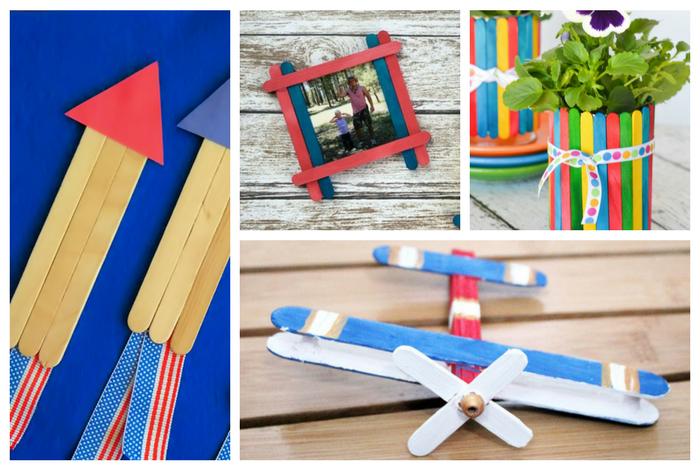 Kids Popsicle Stick Crafts   10 Simple Craft Stick Creations, trishsutton.com