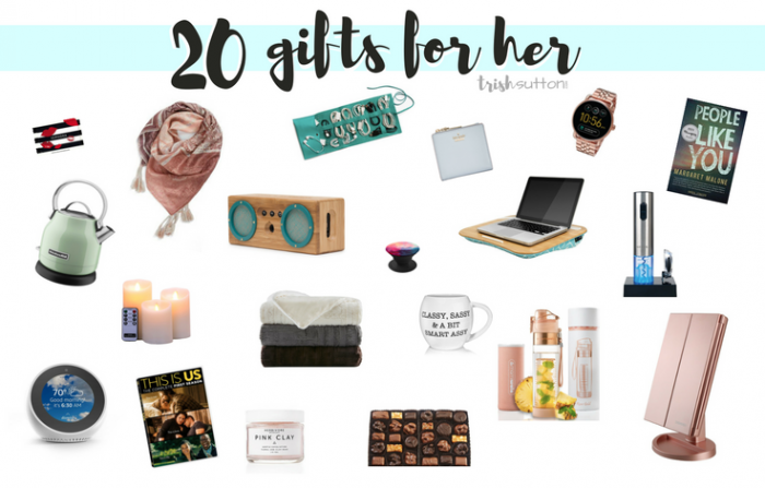 Gift Guide for Her   20 Gift Ideas for Ladies