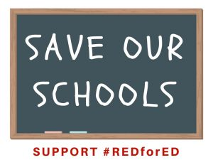 #RedForED Free Printables; TrishSutton.com