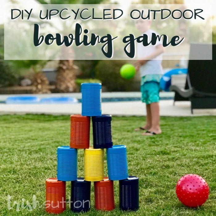 DIY Outdoor Pool Towel Dry Rack | Beach Towel Holder TrishSutton.com