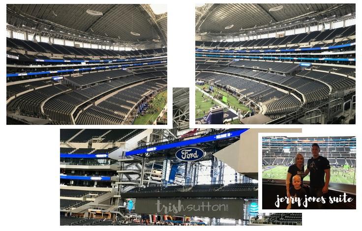 Rally Day; AT&T Stadium Tour, Dallas Texas TrishSutton.com Review #dallas #attstadium #cowboys