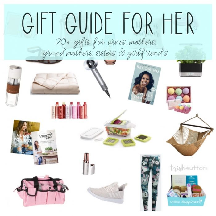 Gift Guide for the Ladies | 20+ Gift Ideas and Mother's Day