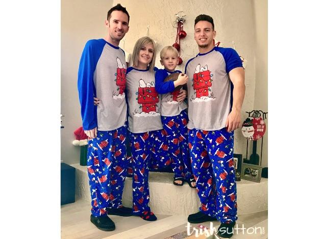 Matching Christmas Jammies