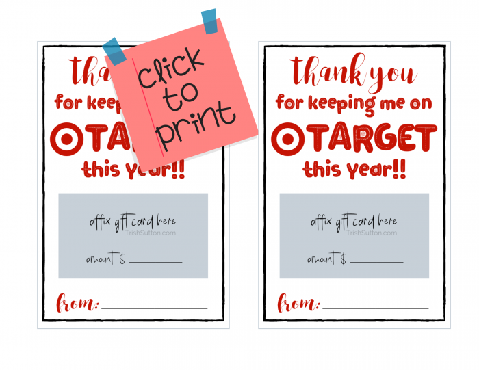 Two free printable thank you notes for teachers.