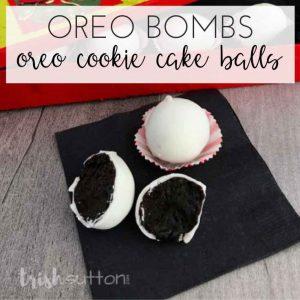 Oreo Cookie Cake Balls Recipe | Oreo Bombs