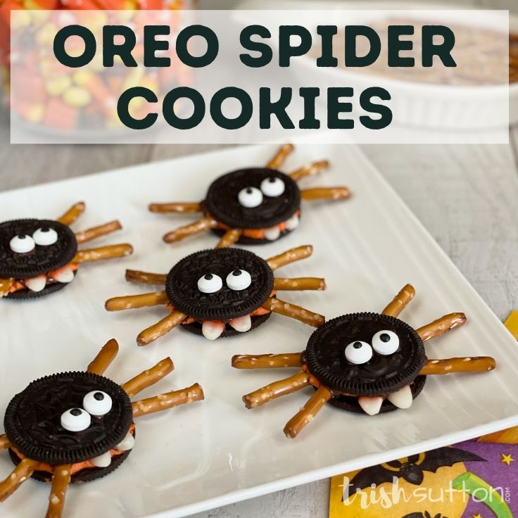OREO Spider Cookies Spooky Halloween Treats
